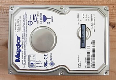 ハードディスク 分解