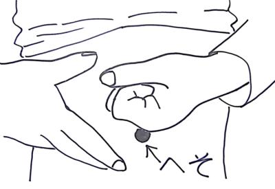 餅を喉に詰まらせた時の対処法