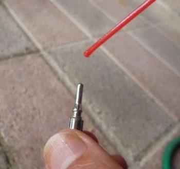 自転車の虫ゴムの交換方法