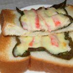 教えてもらう前と後【海苔カニカマトーストのレシピを紹介!低カロリーで高タンパクが魅力】