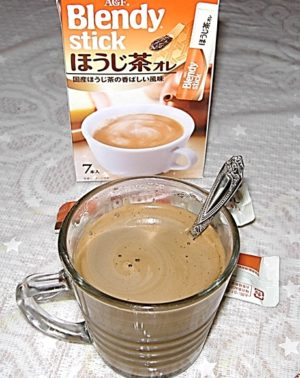 AGFブレンディほうじ茶オレ 味