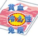 【肉選び】貧血改善、冷え性改善、免疫力アップ、に効果的な肉2つを紹介
