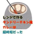 【若菜まりえ 時短レシピ】タンドリーチキン風カレーを煮込まず6分のレンジで完成